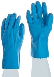 "Ansell FL  Medium Duty Latex Glove - 12"" Length - Size: Small - 12Pk"