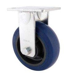 "RWM Casters Plate Caster Aluminum Wheel Ball Bearing - 6"""