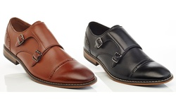 Solo Henry Ferrera Gvx100 Slip on Dress Shoes - Cognac - Size: 8