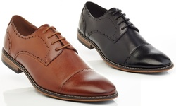 Gvx200 Lace Up Dress Shoes: Black/ 10