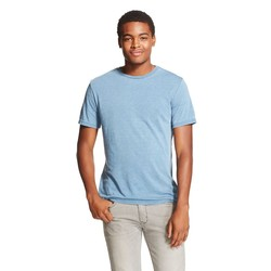 Mossimo Men's Crew Neck T-Shirt - Blue Juice - Size: MT