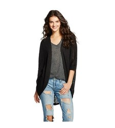 Mossimo Supply Cardigan - Black - Size: Large
