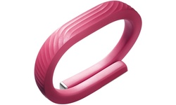 Jawbone UP24 Fitness Activity Tracker - Pink Coral - Size: Medium
