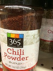 Whole Foods Market Austin TX 365 Everyday Value Chili Powder - Blend
