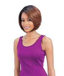 Freetress Synthetic Lace Front Deep Diagonal Part Wig - Purple Blossom