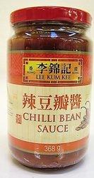 Lee Kum Kee Chili Bean Sauce (Toban Djan) Jars (Pack of 13-ounce, 3