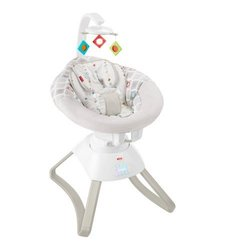Fisher-Price  Soothing Motions  Seat in Geo Diamonds