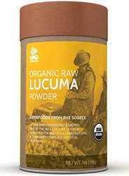 OMG! Superfoods Organic Lucuma Raw Powder - 100% Pure, USDA Certified Organic Lucuma Raw Powder - 7oz