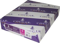 """Cougar Opaque Smooth 500 Sheets - White - Size: 8.5""""x11"""""""