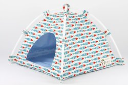 Dochi Queen Tent Beds for Hedgehogs Hamsters & Other Small Animals - Blue