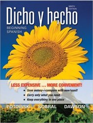 Wiley Dicho Y Hecho Beginning Spanish Paperbook