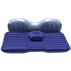 3 Trees New Style Inflatable Travel Camping Sleeping Mattress Bed - Blue