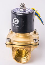 G.D.Solid Electric Solenoid Valve Normally Closed Air Water Gas - 110V