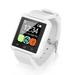 Bluetooth Smart Watch For Men And Women: White