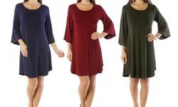 Nelly Women's Tunic Dress - Olive - Size: 2XL