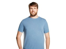 Mossimo Men's Short Sleeve T-Shirt - Blue Juice - Size: XXXL