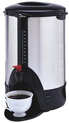 Dominion Home Products DK50 50-Cup Stainless Steel Urn - 1000W
