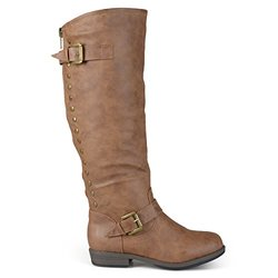Brinley Co Women's Durango Riding Boot, Chestnut, 9 M US