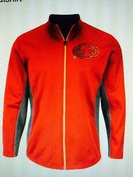 NFL Men's San Francisco 49ers Activewear Sweatshirt - Red/Gray - Size: M