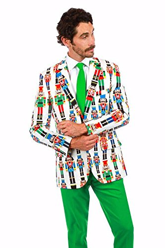 mens ugly christmas sweater suit the nutcracker size - Christmas Sweater Suit