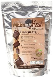 MegaOne Natural Gluten Free Superfoods Chocolate Meal Replacement Shake