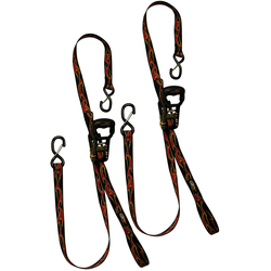 Power Cat Licensed Max 4 Dual Safety Clip Tie Down - Pair - Camoflauge