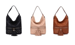 MKF Collection Aileen Shoulder Bag - Apricot - Size: One Size