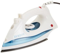 Jerdon J513W Dual Automatic Shut-Off Midsize Iron with 9-Foot Cord, 1200-Watts, White Finish