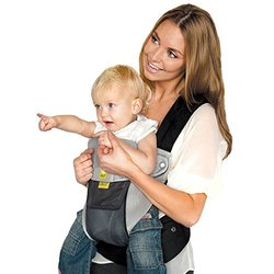 SIX-Position, 360  Ergonomic Baby & Child Carrier by LILLEbaby - The COMPLETE Airflow (Grey/Silver)