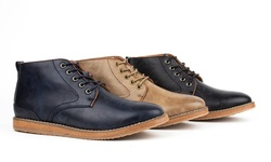 Harrison Men's Casual Chukka Boots-black-9