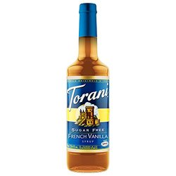 Torani Sugar Free French Vanilla Syrup -25.35oz