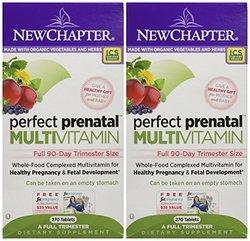 New Chapter Perfect Prenatal Multivitamin Trimester 540 Tablets