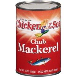 Chicken of the Sea Chub Mackerel 12/Case 15 Ounce