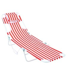 Room Essentials Read Through Stripped Chair - Orange