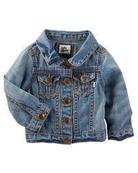 Genuine Kids Boys' Heart Jean Jacket - Blue - Size: 6