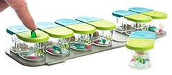 Sagely SMART Weekly Pill Organizer - Sleek AM/PM Pill Box with 7 Day Travel Containers and Free Reminder App (Large Enough to Fit Fish Oils and Vitamin D)