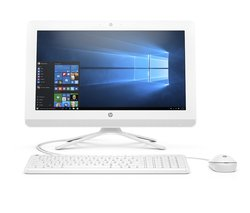 """HP Envy 19.5"""" All-in-One Computer  4GB 1TB  Windows 10 - White (20-C010)"""