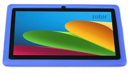 """Rotor 7"""" Tablet 4GB Android 4.4.2 - Blue (7031)"""