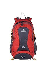 MANGROVE Alaska Waterproof Hiking Backpack - Red - Size: 35L
