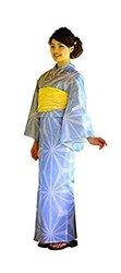Hitotoki Geisha Women's Kimono Robe Yukata Japanese Anime - Size: M