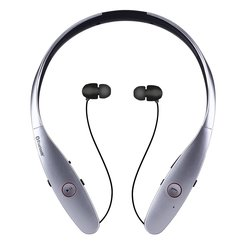 Bluenin HBS-900 Wireless Bluetooth Headphone - Silver