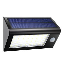 GDEALER Solar Lights - Super Bright 32 LED Solar Powered Lights Garden
