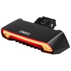 ONEU Bike Tail Light with Waterproof Safety Laser Beams Lamp