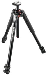 Manfrotto MT055XPRO3 055 3-Section Tripod - Aluminium - Black
