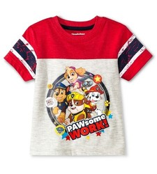 PAW Patrol Baby Boys' T-shirt - Red - Size: 18M