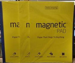 Telsa Amazing Magnetic Pads - Yellow - 50 Pads