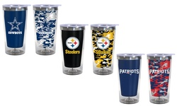 Nfl Color Changing Travel Tumbler: Texans