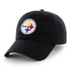 NFL Men's Pittsburgh Steelers Hat - Black