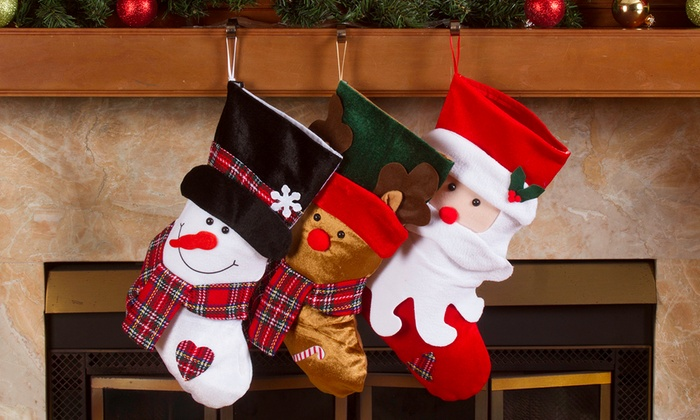 green imperial home 19 classic christmas stockings 3pack red - Red And Green Christmas Stockings