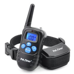 Petrainer Dog Training Collar & Rainproof Remote Dog Shock Collar
